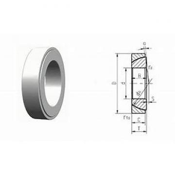45 mm x 75 mm x 15 mm  NACHI 45TAB07DB Cojinetes De Bola